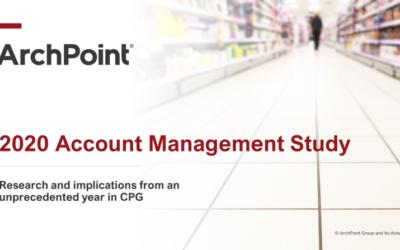 2020 Account Management Study